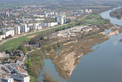 Quartier des bords de Loire à Nevers